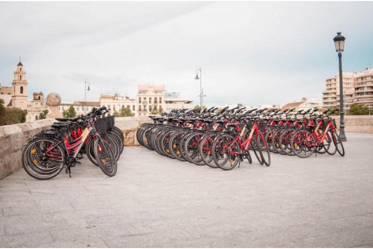 Tour de vélo à Valence